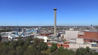 DJI Phantom 3 Drone over Kew Boulevard Melbourne