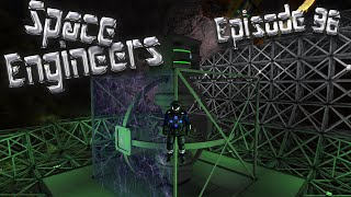 Let's Play Space Engineers - Episode 96: Forcefields & Centrifuges!