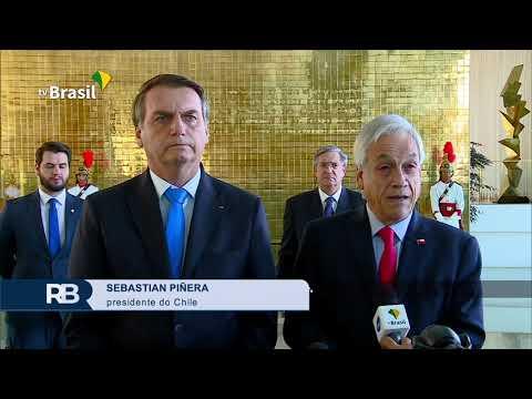 Bolsonaro recebe o