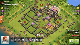 The most delicious robbery clash of clans (COC)part 12.Clash Of Clans