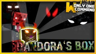 Minecraft 1.12 - Pandora's Box with Only One Command/Function (IT DESTROYS EVERYTHING!!)