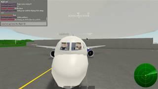 EIN FLUG MIT DELTA! (Roblox Pilotenausbildung Flugsimulator)