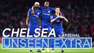Late Comeback Scenes! 🔥| Arsenal 1-2 Chelsea | Unseen Extra