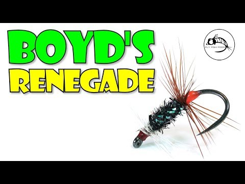 Boyd's Henry's Lake Renegade Fly