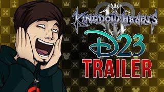 [REACTION] Kingdom Hearts 3 D23 2017 Trailer (Level Up! - Live Completa)