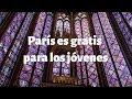 PARIS: museos y atracciones GRATIS para los jóvenes