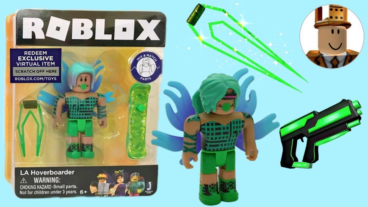 Roblox Toys LA Hoverboard, Celebrity Series 2, Unboxing & Toy Review, Code  Item
