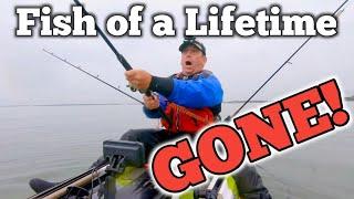 Two Monsters Lost - Kayak Sea Fishing UK
