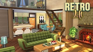 RETRO LOFT // The Sims 4: Speed Build // NO CC