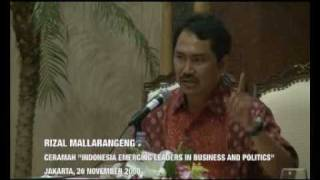 Rizal Mallarangeng Indonesia Emerging In Business and Politics (3)