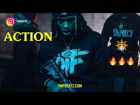 "[FREE] King Von Type Beat 2019 ""ACTION""   G Herbo Type Beats"