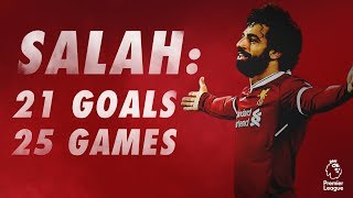 Mohamed Salah: Every Premier League goal so far...