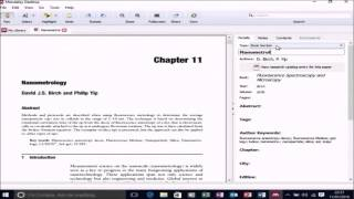 Referenzierung in Microsoft Word mit Mendeley Desktop
