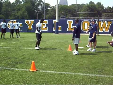 Xavier Youngblood Ary 20 yard shuttle run