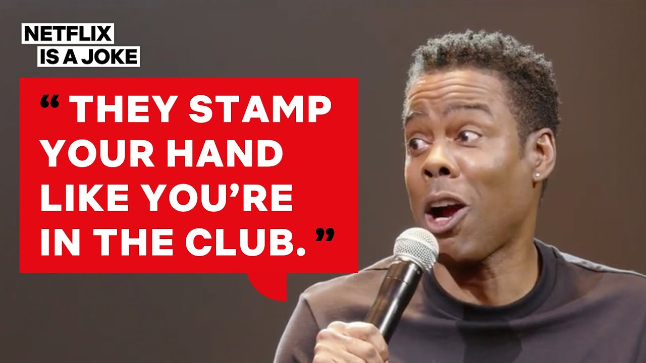 Chris Rock Wants An Airline With No Security | Total Blackout