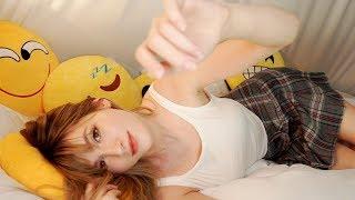 ASMR - Lay down to fall asleep with me ♥ АСМР