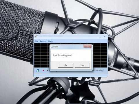 """Обзор по программе """"MP3 Sound Recorder""""."""