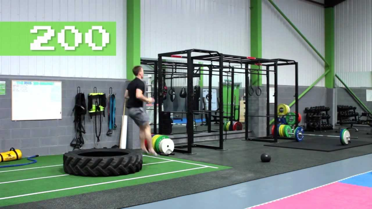 crossfit garage gym ideas - The Rigs 300 Fitness Challenge 300 Workout Routine