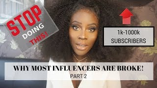 """""""SMALL"""" INFLUENCERS ARE DOING THIS WRONG! THE TRUTH"""