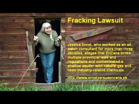 Fracking Lawsuit  - Jessica Ernst - Canada