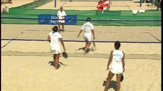2011 European Beach Tennis Championships - Women Final