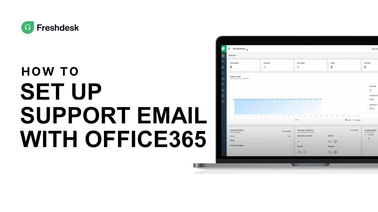 How to set up support email with Office20 on Freshdesk Mint