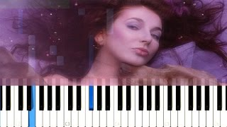 Kate Bush - And Dream of Sheep [Piano Online Tutorial] How To Play