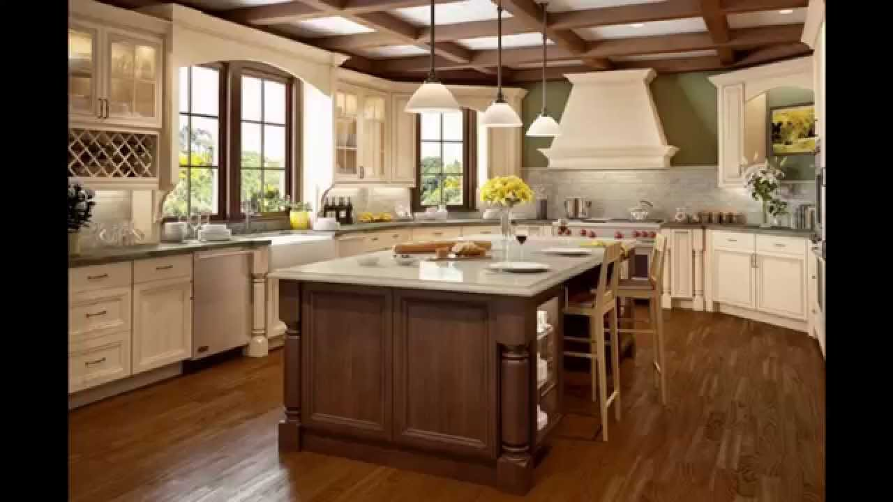 Brown cabinets and black countertop the most impressive for Black and brown kitchen ideas