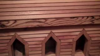 Cedar Sided Church Doll House