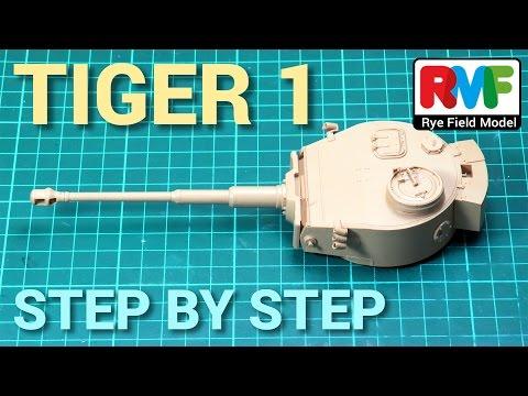 [1] TIGER I - Rye Field Model - Step by Step