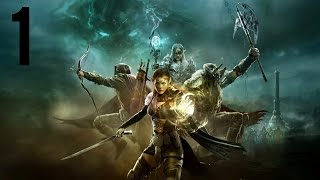 The Elder Scrolls Online: Tamriel Unlimited part 1 (Ebonheart Pact) (Game Movie) (No Commentary)