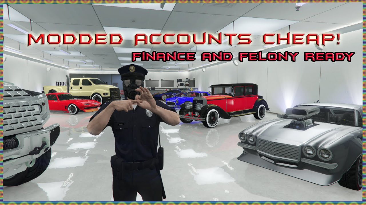 Gta 5 modded accounts for sale newest update ps4 xbox one for Fenetre sale gta 5
