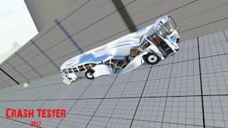 Crash Test Extrem Slow Motion 8 BeamNG Drive v0904