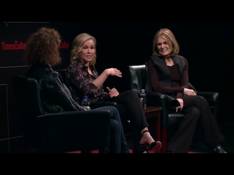TimesTalks | Chelsea Handler and Gloria Steinem