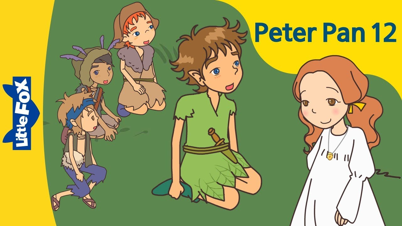 Peter Pan 12 For Love Of Wendy Level 6 By Little Fox Youtube