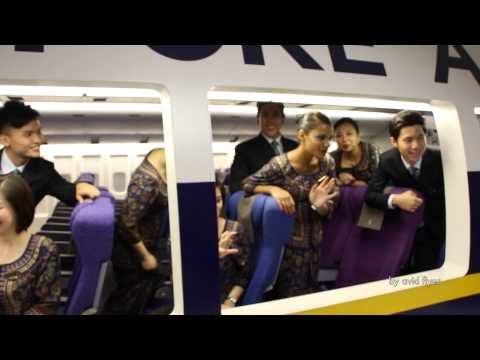 A look at Singapore Airlines Cabin Crew (Singapore Girl) Service Training