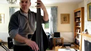bsx allegro 5 string upright bass
