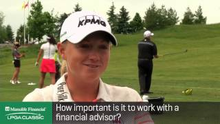 Interview with Stacy Lewis at the Manulife Financial LPGA Classic p.3