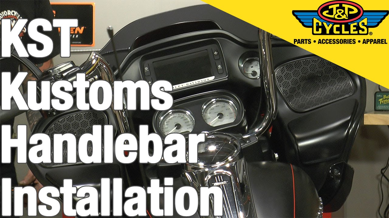 Kst Kustoms 12 Handlebar Installation Youtube