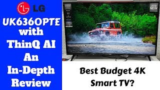 "Best Budget 43"" 4k LG TV 2018