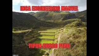 Inca Engineering Marvel: Tipon Near Cusco Peru