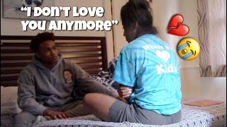 I DONT LOVE YOU ANYMORE PRANK ON GIRLFRIEND . (SHE CRIED 😭💔) told her i wanna break up