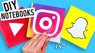 DIY Social Media Notebooks - Back to School!
