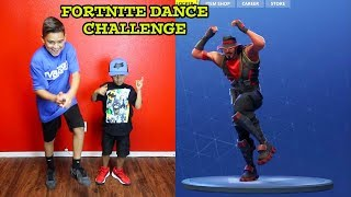 FUNNY FORTNITE DANCES IN REAL LIFE | DAMIAN and DEION