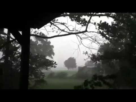 Storm in West Monroe, Louisiana