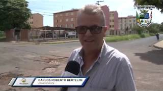 Moradores reclamam dos buracos nas ruas no bairro Moreira