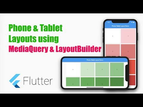 Create Device Specific Layout – Phone/Tablet layouts in Flutter