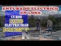 🏗 ENTUBADO eléctrico de losa 🛠 - ⚡️ ELECTRICIDAD DOMICILIARIA ⚡️
