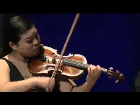 Yura Lee, violin & Thomas Hoppe, piano - W.A.Mozart, Violin Sonata in G-Major, KV301 - II.avi