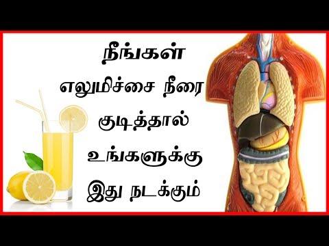 எளிமிச்சை நீரை குடித்தால் என்ன நடக்கிறது பாருங்க | Health benefits of lemon water | elumichai palam